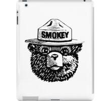 Smokey The Bear iPad Case/Skin