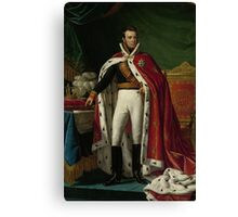 King William I of the Netherlands Canvas Print