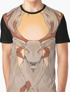 Stag in nature Graphic T-Shirt