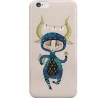 Goats coffee iPhone Case/Skin
