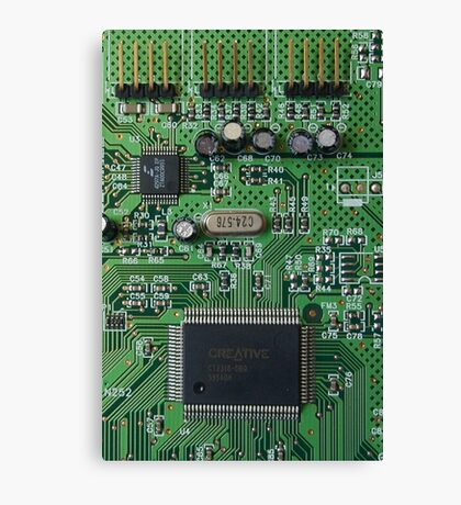 Circuit Board (old) Canvas Print