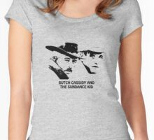 Butch Cassidy and the Sundance Kid Women's Fitted Scoop T-Shirt