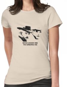 Butch Cassidy and the Sundance Kid Womens Fitted T-Shirt