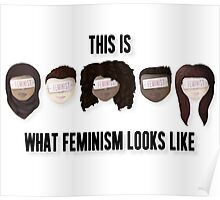 This is what feminism looks like Poster