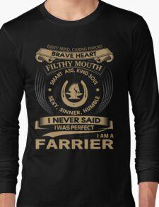 FARRIER Long Sleeve T-Shirt