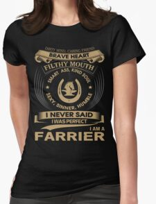 FARRIER Womens Fitted T-Shirt