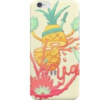 Ninja pineapple iPhone Case/Skin
