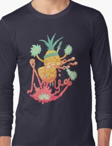 Ninja pineapple Long Sleeve T-Shirt