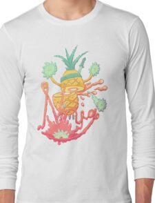 Ninja pineapple Long Sleeve T-Shirt