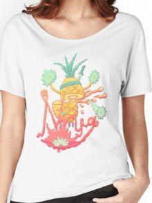 Ninja pineapple Women's Relaxed Fit T-Shirt