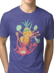 Ninja pineapple Tri-blend T-Shirt