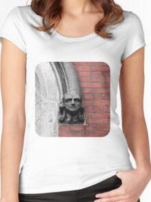 Stone-Faced  Women's Fitted Scoop T-Shirt
