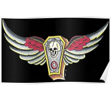 Flying Coffin Poster