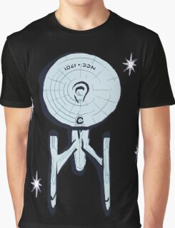 NCC - 1701 ENTERPRISE Star Trek Graphic T-Shirt