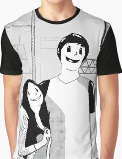Inkblot Love-Cartoon  Graphic T-Shirt