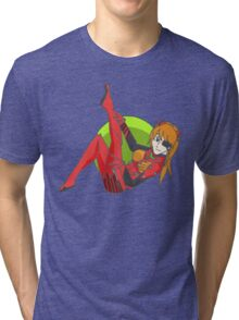 Asuka Pin Up Tri-blend T-Shirt