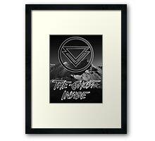 The Ghost Inside - Black Mountains Framed Print