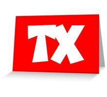TX TEXAS Greeting Card