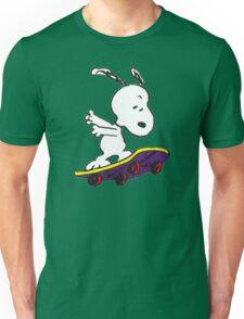 Snoopy skate Unisex T-Shirt