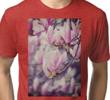 Cherry blossoms Flower Nature Photography Tri-blend T-Shirt