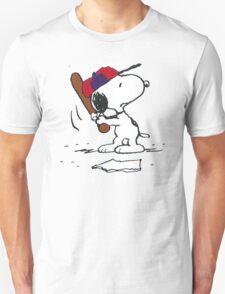 Snoopy golf fun Unisex T-Shirt