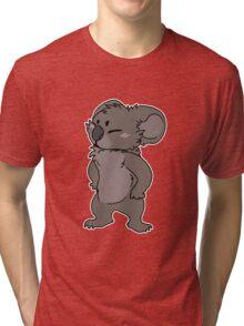 koala grump Tri-blend T-Shirt