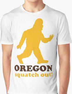 Squatch Out Oregon Graphic T-Shirt