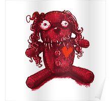 nasty pink voodoo baby Poster