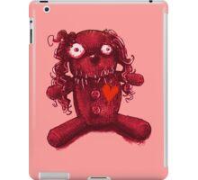 nasty pink voodoo baby iPad Case/Skin