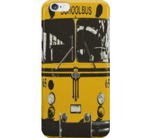Yellow School Bus iPhone Case/Skin