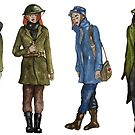 Women in WW1 by jem16