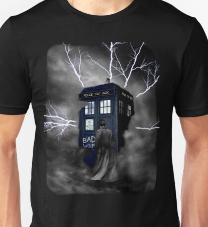 Lightning Blue Box Unisex T-Shirt