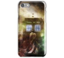 Fantasy Fog Blue Box iPhone Case/Skin