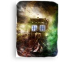 Fantasy Fog Blue Box Canvas Print