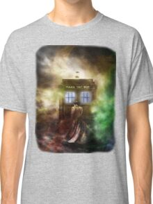 Fantasy Fog Blue Box Classic T-Shirt