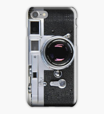 Retro Camera Texture iPhone Case/Skin
