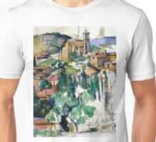 1885 - Paul Cezanne - The Village of Gardanne Unisex T-Shirt