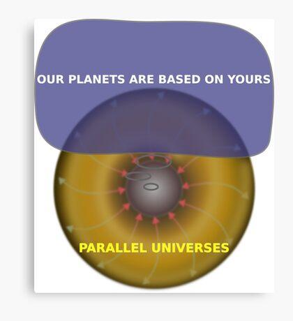 Parallel Universes - Assurant Canvas Print