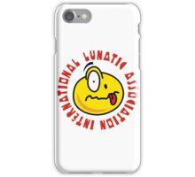 International Lunatic Association iPhone Case/Skin
