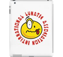 International Lunatic Association iPad Case/Skin