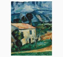 1886 - Paul Cezanne - House in Provence One Piece - Long Sleeve