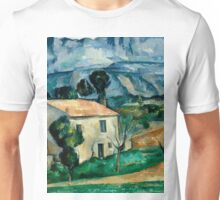 1886 - Paul Cezanne - House in Provence Unisex T-Shirt