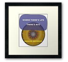 Parallel Universes - BUD Framed Print