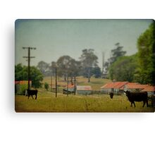 In The Village Canvas Print