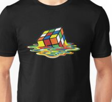Rubik's Cube Melted Cubes Unisex T-Shirt