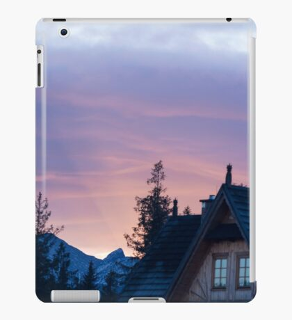 Light from behind the Mountain - Travel Photography iPad Case/Skin