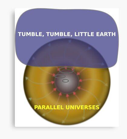 Parallel Universes - Earth Canvas Print