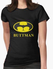Buttman Womens Fitted T-Shirt