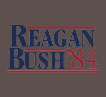 REAGAN Bush 1984 Baby Tee
