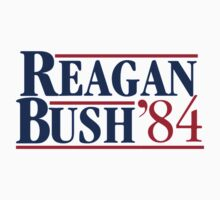 REAGAN Bush 1984 Kids Tee